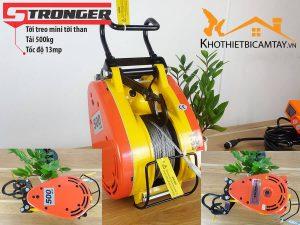 Máy tời điện mini STRONGER CS-500