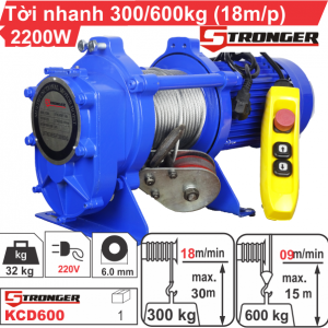 TỜI XÂY DỰNG STRONGER KCD600