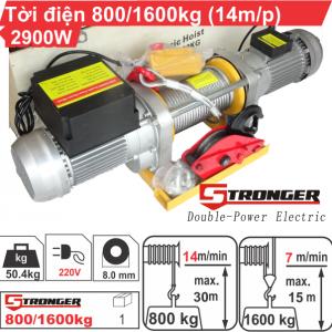 Máy tời điện Stronger 800/1600kg