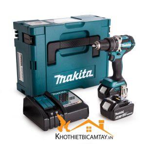 Máy khoan vặn vít dùng pin Makita DDF482RFE