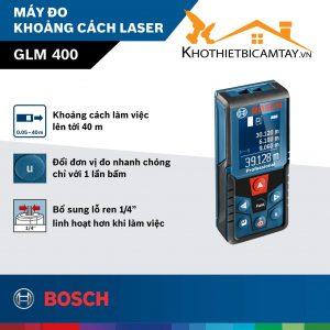 Máy đo khoảng cách laser Bosch GLM 400