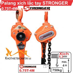 Pa Lăng Xích Lắc Tay Stronger 0.75T-4M