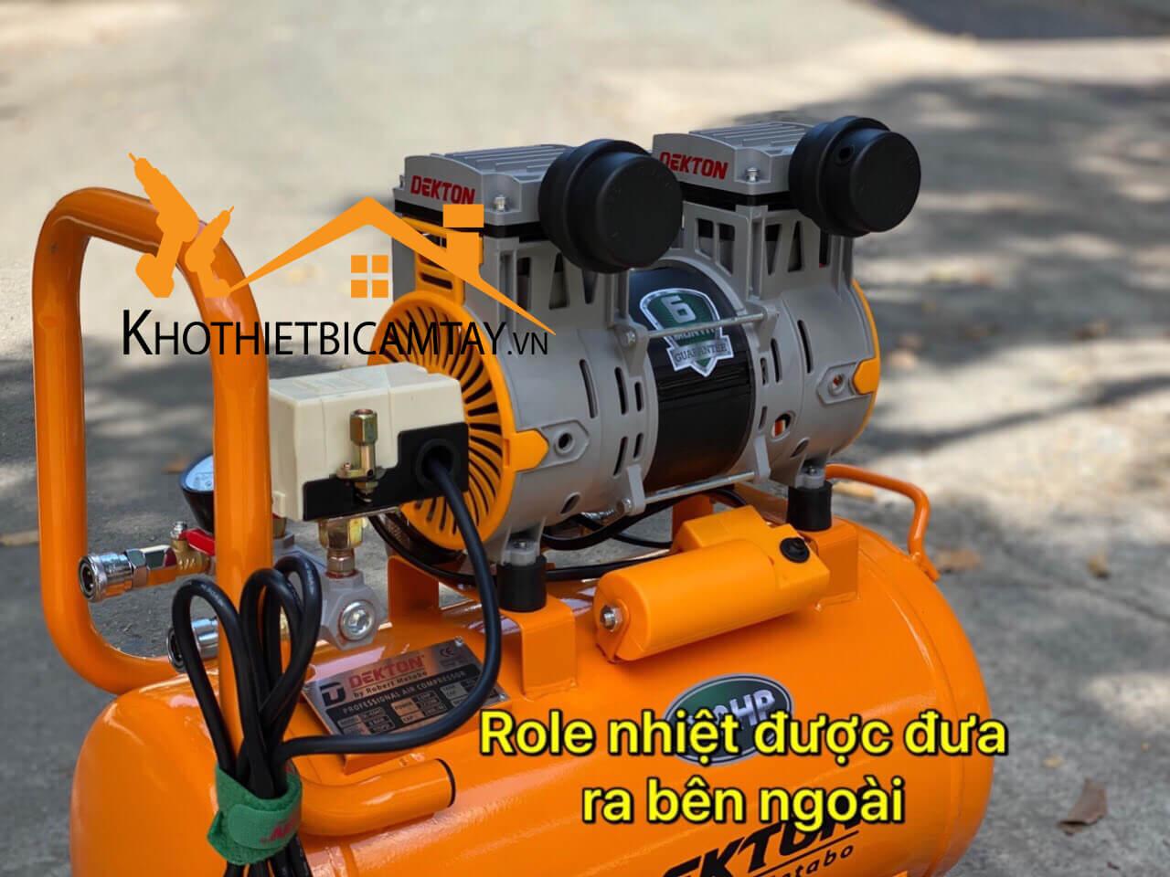 Máy nén khí không dầu DEKTON DK-6945