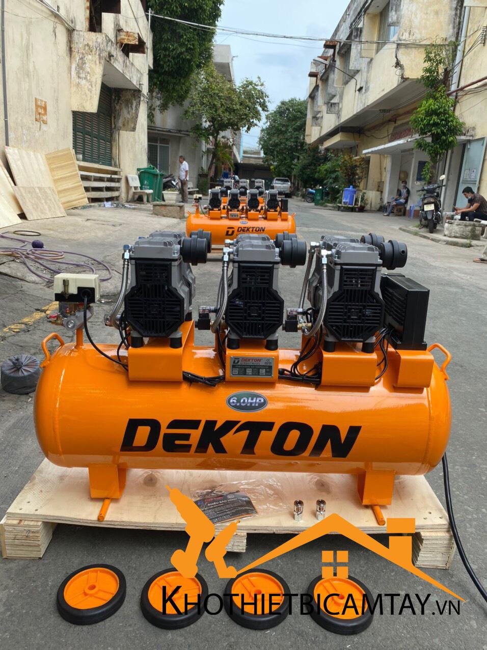 Máy nén khí không dầu Dekton DK59-100
