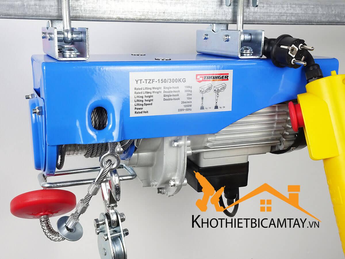 Tời điện nhanh mini STRONGER YT-TZF-150/300