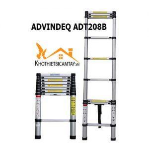 Thang nhôm rút đơn Advindeq ADT208B