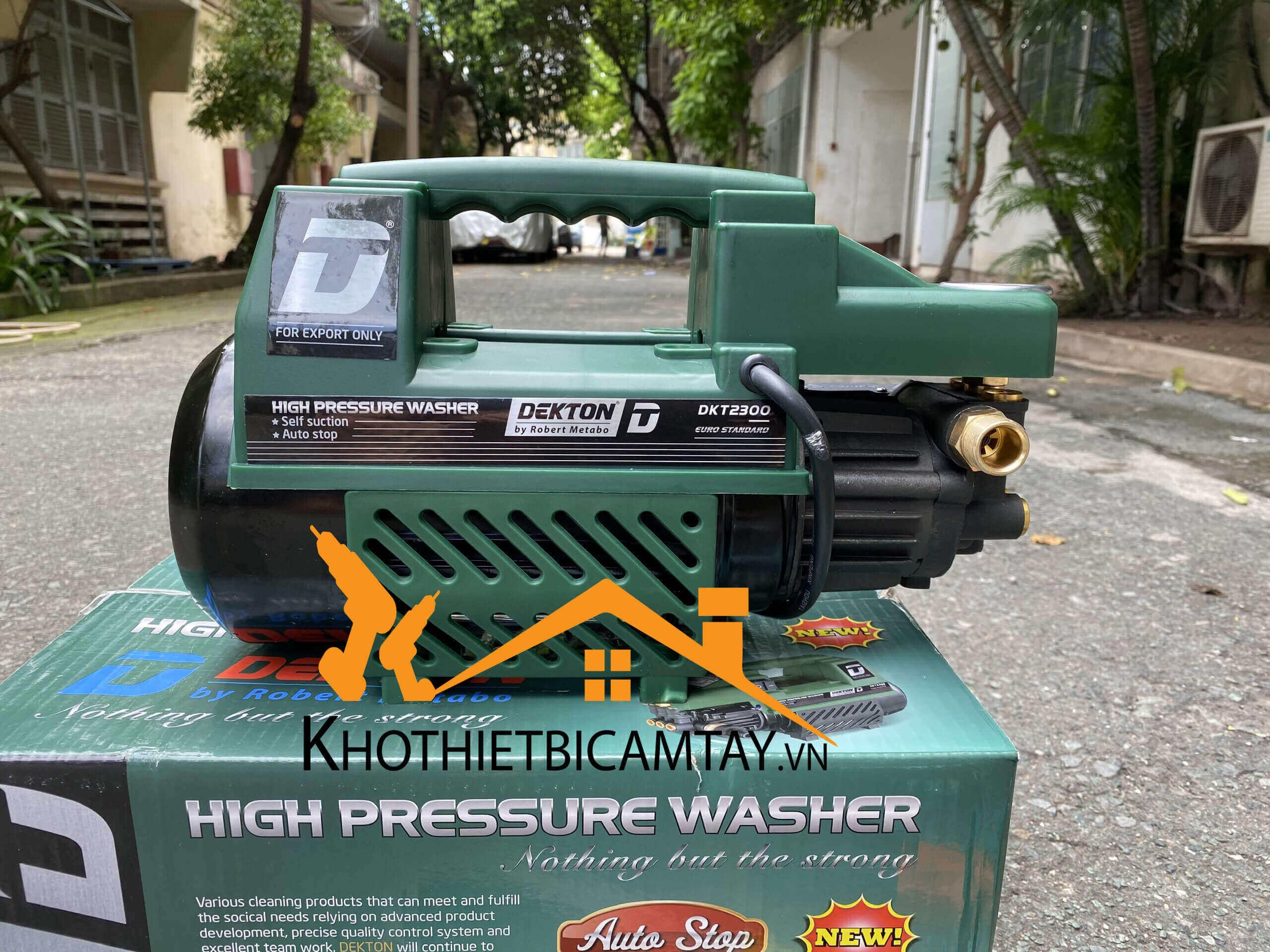 Máy xịt rửa xe cao áp Dekton DKT2300