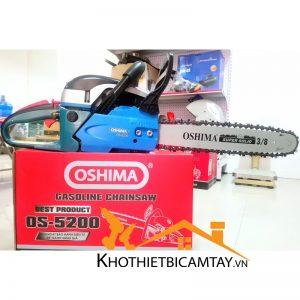 Máy cưa xích chạy xăng Oshima 5200