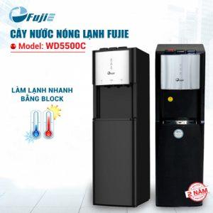 Cây nước nóng lạnh 3 vòi FUJIE WD5500C