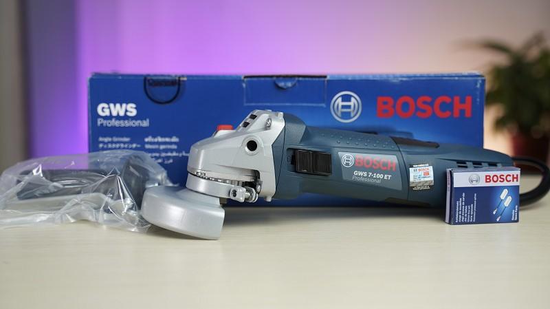 Máy Mài Góc Bosch GWS 7-100ET - Kho Thiết Bị Cầm Tay