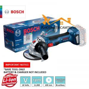 Máy mài dùng pin Bosch GWS 180-LI SET