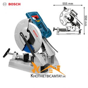 Máy cắt sắt inox lưỡi hợp kim Bosch GCD 12 JL