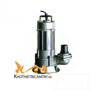 Bơm chìm nước thải Inox NTP SSM2100-13.7 205 5HP