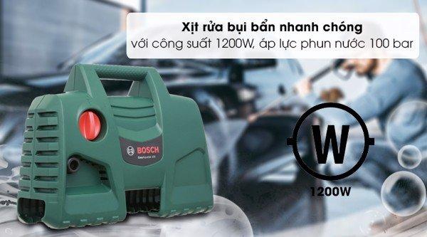 Máy xịt rửa áp lực Bosch Aquatak AQT 100 LL
